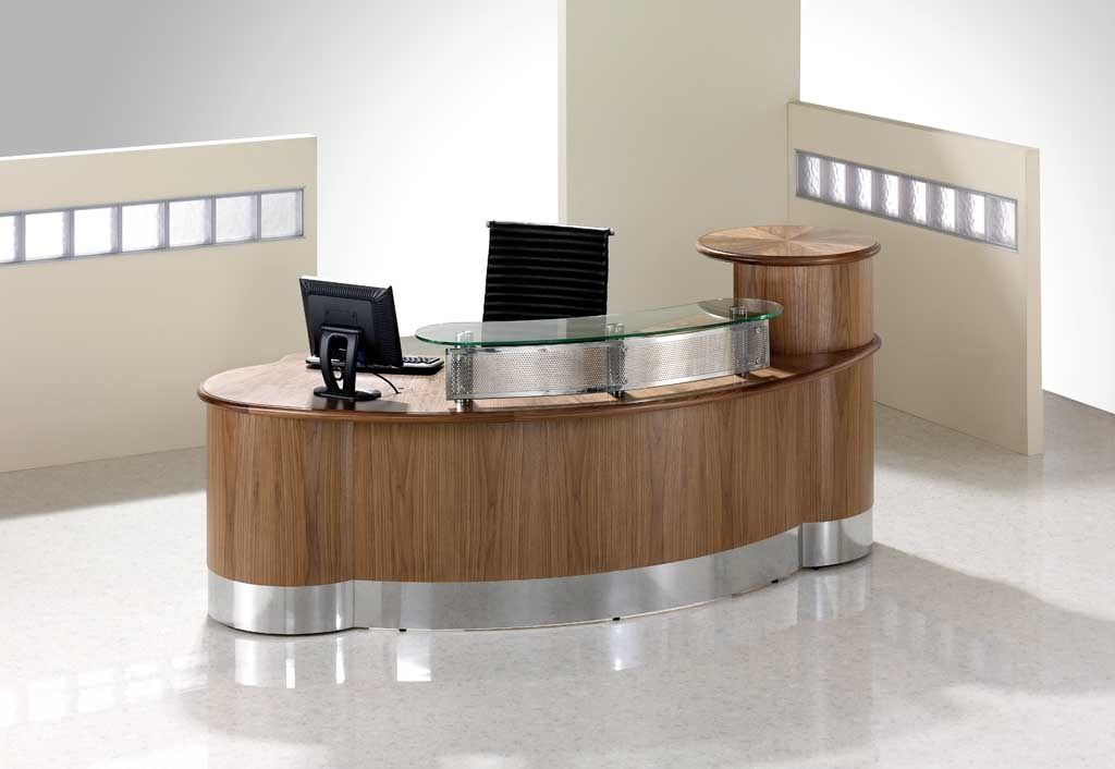 Lincoln Veneered Reception Desks