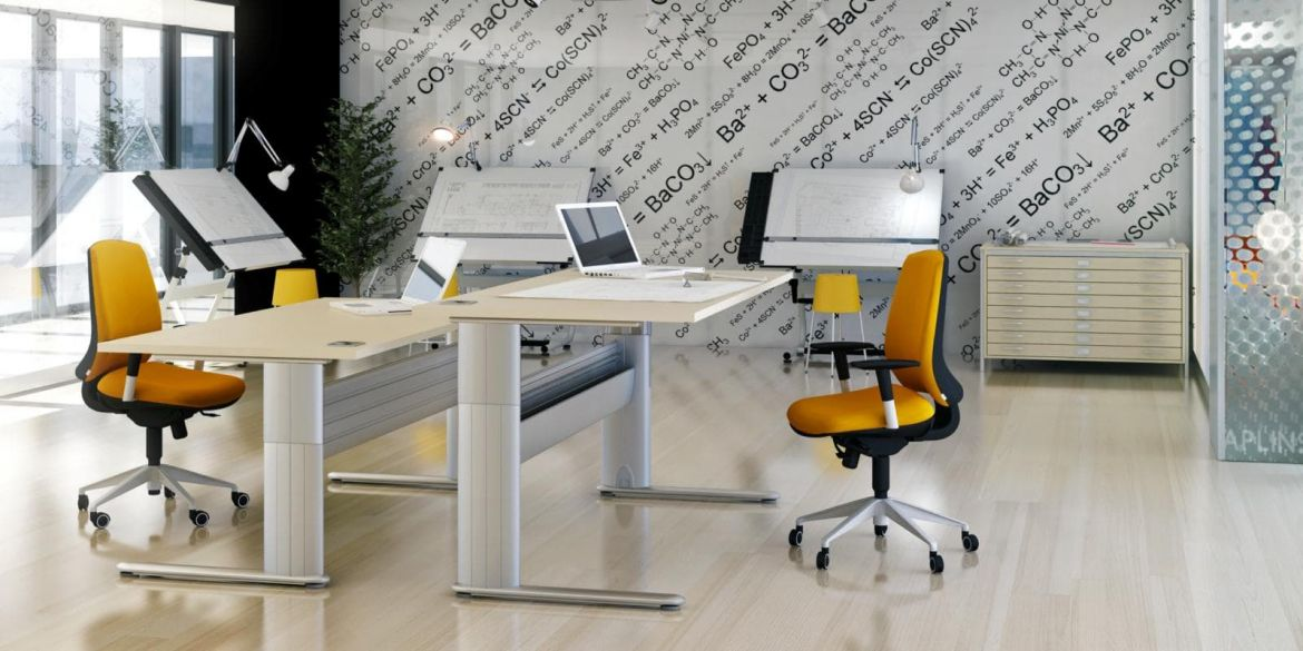 Optima + Height Adjustable Desks