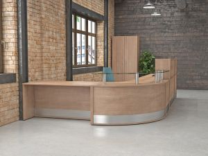 Aspire Receptiv Reception Desks
