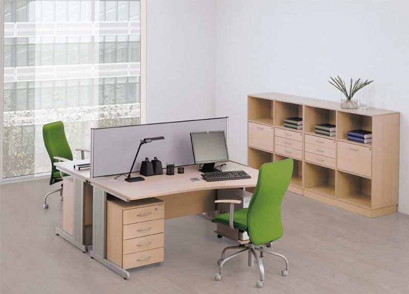 Delta C Rectangular Workstations