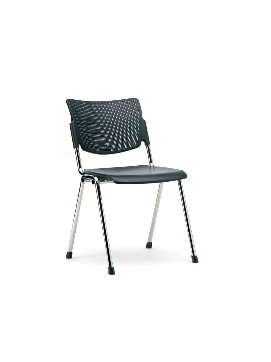 4 Leg Training and Conference Chairs - Mia