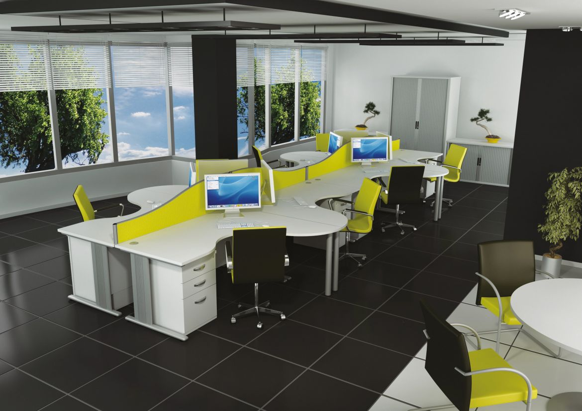 Qudos Wave Desks