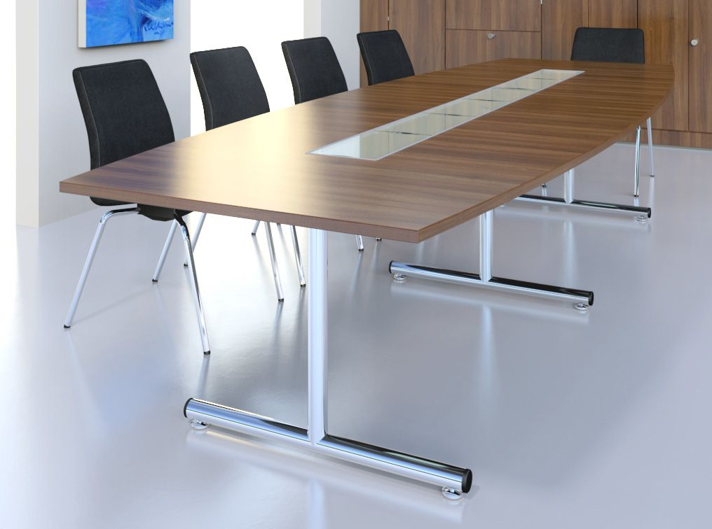Centaur t base conference table for Petite table manger