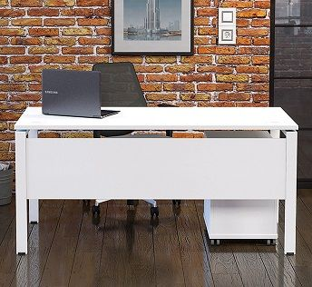 Lyra Bench Desks with Goal Post Legs
