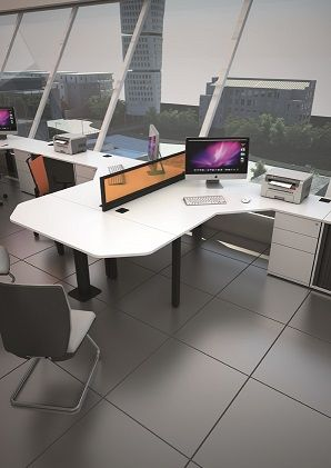 Poise Crescent Workstations