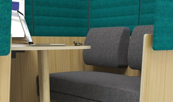 Island Wood Meeting Pods