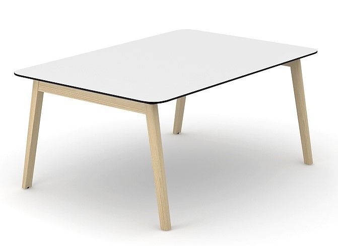 Wooden HPL Meeting Tables