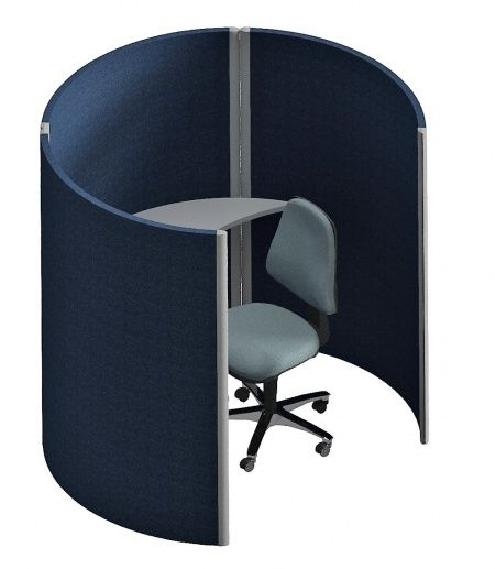 Curved Office Booth System