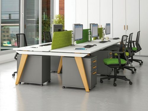 Reflex Wooden Bench Desks