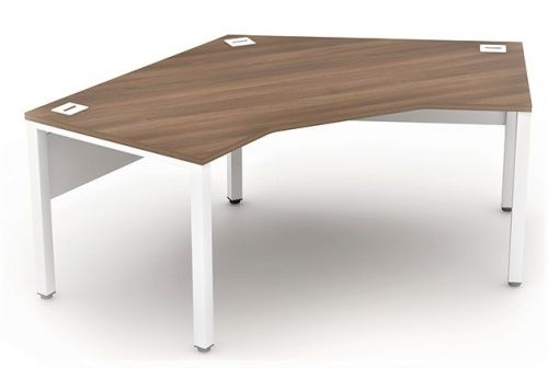 Poise 120 degree Crescent Desks