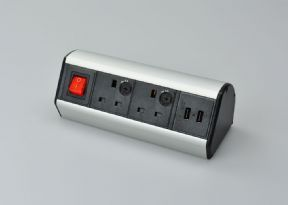 USB/Power Hub for Desktop - 2 x USB & 2 x Power Sockets