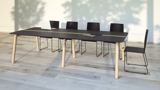 Delta Wood Meeting Tables