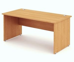 Pulse Rectangular Desks Panel End Leg