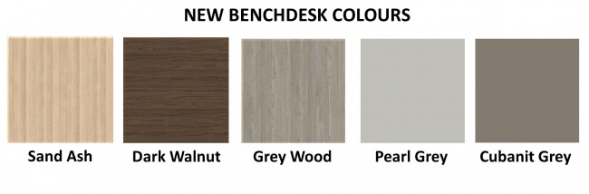 New Bench Colours