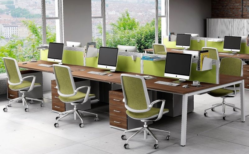 how to successfully add colour to your office space